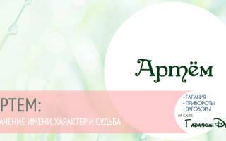 Значение имени Артём для мальчика: важные особенности, черты характера, совместимость имен