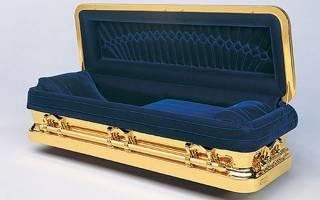К чему снится пустой открытый гроб?