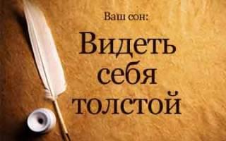 Сонник Видеть Себя Толстой во сне в зеркале к чему снится?