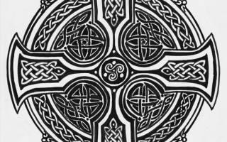 Расклад кельтский — крест