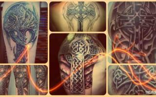 Значение тату кельтский крест: смысл, история, фото