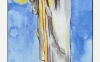 Отшельник (9 Аркан) Таро: значение в отношениях, работе