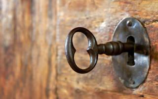 Открывать и закрывать дверь ключом — значение сна по сонникам