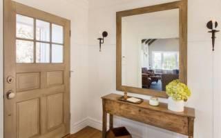 Зеркало напротив входной двери: можно вешать или нет