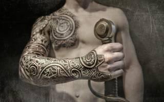 Значение татуировки кельтские узоры — смысл и история