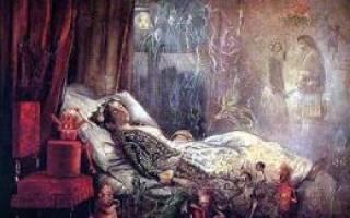 Видеть во сне живого человека умершим: толкование