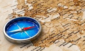 Где находятся север, юг восток и запад, расположение на карте