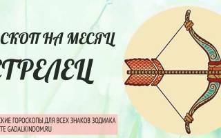 Гороскоп Стрельцов на ноябрь 2019 года