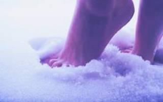 Ходить босиком по снегу во сне: толкование