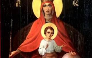 Иконы Божией Матери: Икона Божией Матери Державная, значение и фото