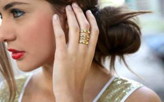 Кольцо на среднем пальце: что означает на правой и левой руке у девушки, женщины, мужчины