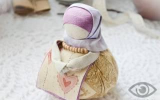 Кукла-оберег Благополучница: мастер-класс изготовления своими руками