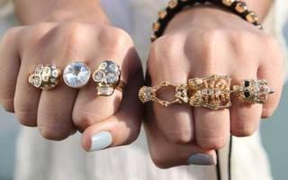 Выпал камень из кольца: примета