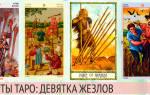 Девятка Жезлов: значение карты Таро