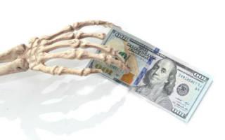Что значит, если во сне покойник дает деньги?
