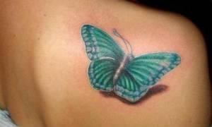 Тату бабочки — что означает? Значение тату бабочки на женском теле