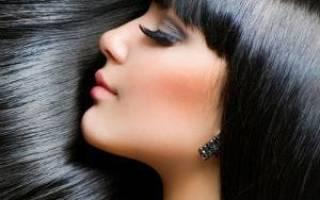 Сонник черные волосы
